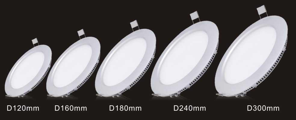 High Quality Driver Inside Of Round Led Panel